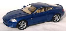 Diecast 1:38 Jaguar XK coupe in metallic blue