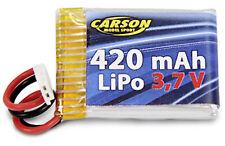 Carson 500608092 Akku Mini Tyrann 3,7V 420 mAh LiPo 12C