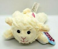 """8.5"""" Fuzzy Friends Lying Down Lamb Plush Stuffed Animal Super Soft for Easter"""