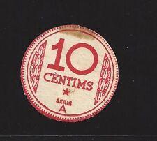 F.C. MANRESA (BARCELONA), 10 CENTIMS, S/A. S/C- MANCHA ADHESIVO.
