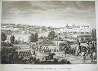 Battle Dresden Dresden Battle 1813 Napoleon Bonaparte 1815 Lying Pigeot