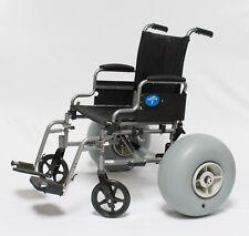BEACH WHEELCHAIR  ROUGH TERRAIN OFF ROAD CONVERSION KIT (rear wheels + fittings)