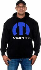 Mopar Men's Pullover Hoodie Black with Front Logo JH Design  MOP9P3BSC4BLK NEW