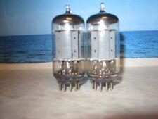 ECC83 ( 12AX7  CV4004 ) Telefunken # <> # Matched Pair # 17mm Smooth # NOS (2069