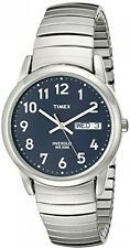 Timex Men's T20031 Quartz Easy Reader Watch With Blue Dial Analogue Display And
