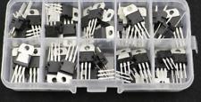 50pcs 10 Values Voltage Regulator Ic Assortment Assorted Kit L78 Series