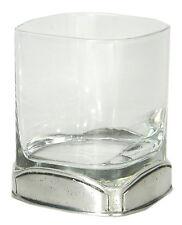 CAVAGNINI Bicchiere in vetro e peltro Calice Antico Elegante Metallo