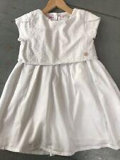 SERGENT MAJOR 7 ans  ++ Robe été blanche dos nu thème Ma collection de papillons