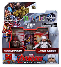 Marvel Avengers Age of Ultron Minimates 5cm doble pack Vision & Hydra Soldier