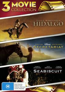 Hidalgo / Seabiscuit / Secretariat : NEW DVD
