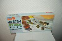 MAQUETTE MONOGRAM MATTEL AVION JU87G-1 STUKA TANK BUSTER 1/48 NEUF VINTAGE 1968