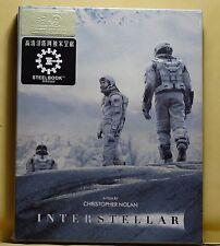 NEW INTERSTELLAR BLU-RAY FULL SLIP STEELBOOK! HD ZETA+REGION FREE! PLZ READ!