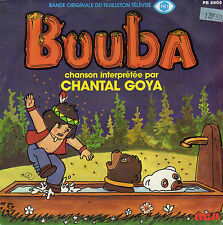 TV OST BOUBA LE PETIT OURSON / INSTRUMENTAL CHANTAL GOYA FRENCH 45 SINGLE