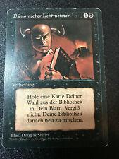MTG Demonic Tutor! Revised German FBB! Magic The Gathering! FREE SHIPPING!