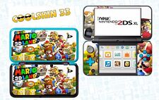 SUPER MARIO LAND   - Vinyl Skin for Nintendo NEW 2DS XL (with C Stick) - réf 177