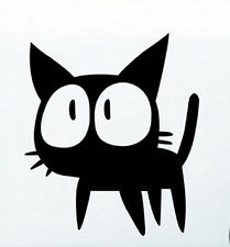 Big Eyes Black Cat Funny Car Sticker Car Decal Vinyl Waterproof Window Sticker