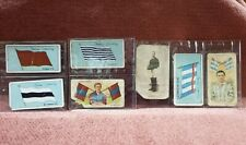 VINTAGE VICE REGAL PIPE  CAPSTAN CIGARETTE CARDS FOOTBALL LOT OF 7