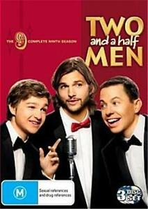 TWO and A HALF MEN : SEASON 9 : NEW DVD