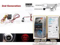 Universal Red LED Push Start Button Ignition Engine Start Starter Switch JDM