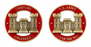 Challenge Coin U.S. ARMY ENGINEERS CORPS CHALLENGE COIN
