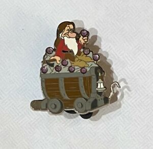 Authentic Disney Seven Dwarfs Mine Car Mystery Collection Grumpy Pin