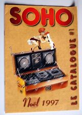 Catalogue Soho Noël 1997 Tex Avery Taz Betty Boop Simpsons Bidochon Girl Wolf