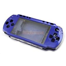 Full House Case Cover Faceplate Front + Back + Buttons For PSP 1000 1001 Blue