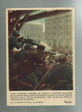 1942 Army PO Italy postcard cover to Prochio Fight Against Bolshevism