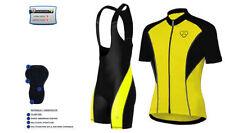 Abbigliamento giallo maglia per ciclismo taglia XXL