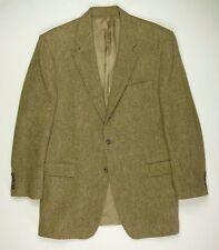 Ralph Lauren Fleck Tweed Wool Sport Coat Jacket Men's 43 L Brown w/ Multicolor