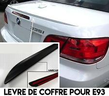 LAME COFFRE SPOILER BECQUET LEVRE pour BMW E93 SERIE 3 CABRIOLET 07-13 330d 335i