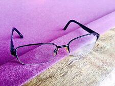 LINK OCCHIALI 4229/N Black Semi Rimless Eyeglasses Frames Glasses 54 17 135