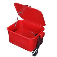 3.5 Gal Automotive Large Parts Washer Garage Electric Solvent Pump Cleaner Tool