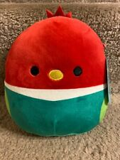 """Squishmallow 7"""" Red Bird Mexican Squad"""