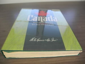 CANADA, 100s of USED Stamps hinged in a Harris Specialty album