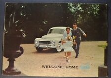 1961 Volvo 544 Catalog Sales Brochure Excellent Original 61