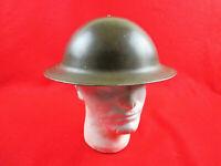 WWII Canadian Brodie Mark 2 MKII Steel Helmet C.L./C 1942 Great Condition