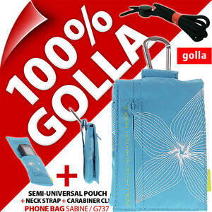 Golla Turquoise Phone Case Pouch Bag for iPhone 4S 5C 5S SE