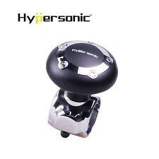 Hypersonic Black Safe Power Handle Car Steering Wheel Spinner Slim Knob