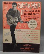 Vintage Duane Eddy: Guitar Man 11 Great Solos by Duane Eddy 1963 Songbook