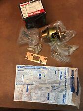Kwikset Deadlock 580 2-3/8 Heavy Duty Single Cylinder Deadbolt Us10 Finish mh16