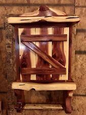 RED CEDAR OF OKLAHOMA Rustic Medicine Cabinet Handmade