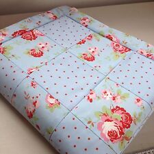 New Listinghand Made Crib Cradle Quilt In Pink Blue Fl Cath Kidston For Ikea