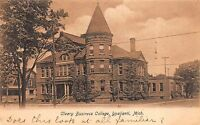 Postcard Cleary Business College in Ypsilanti, Michigan~109733