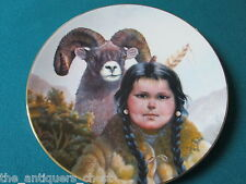 "Pride of American Indians collector plate by Perillo NIB ""Noble Companions""[am9]"