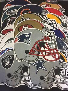 (U Pick) NFL Team Felt Helmet Style Pennants Size 13x16 (Free Ship on 2nd item)