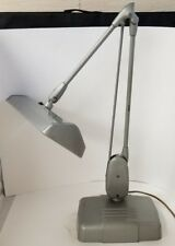 Vtg Dazor P-2324 Articulating Table Lamp Industrial Light Fluorescent Fixture