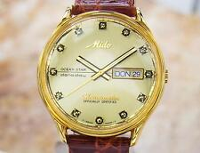 Mido Rare Ocean Star Chronometer Swiss Made Luxury Automatic Watch c 1970s DR33