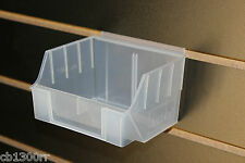 Storage Boxes For Slatwall Slatbox Slat Board Boxes Display Boxes Retail Clear