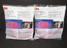 2 Pairs 3M 2097 4 Particulate Filters P100 6000 7500 Paint EXP 03/2023 USA MADE!